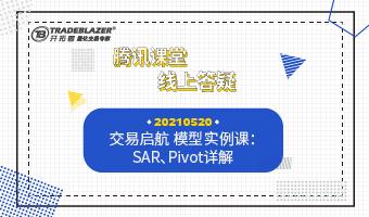 交易启航 模型实例课:SAR、Pivot详解20210520